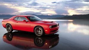 Preview wallpaper dodge, challenger, srt, cars, 2015, hellicat