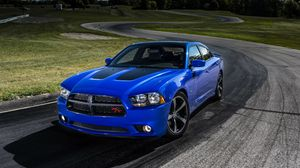 Preview wallpaper dodge, charger, sedan, daytona, muscle car
