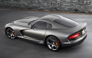 Preview wallpaper dodge viper, srt, gts, anodized, carbon, special, edition, package, 2014
