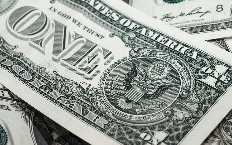1440x900 Wallpaper dollar, bill, banknote