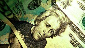Preview wallpaper dollar, green, light, bright