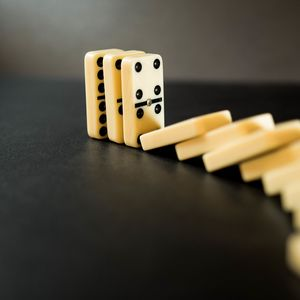 Preview wallpaper dominoes, game, board game, dots
