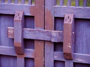 Preview wallpaper doors, painted, wooden, indoor