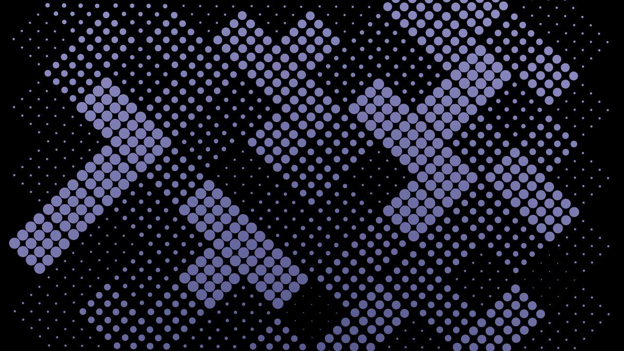 墙纸点,形状,紫色,黑色,抽象高清壁纸免费下载