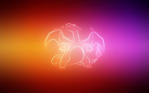 Preview wallpaper dragon, wings, pokemon, charizard
