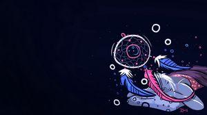 Preview wallpaper dreamcatcher, drawing, dream, art