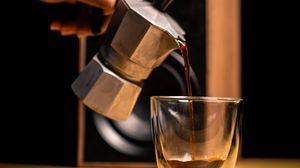 Preview wallpaper drink, coffee, cup, kettle, coffee beans