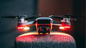 Preview wallpaper drone, camera, technology, device