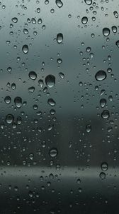 Preview wallpaper drops, glass, wet, surface
