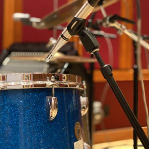 Preview wallpaper drum kit, drums, microphone, music