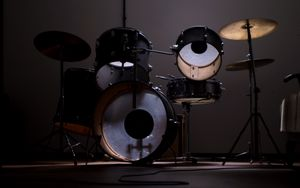 Preview wallpaper drum kit, drums, music, musical equipment