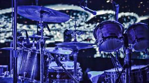 Preview wallpaper drums, musical instrument, lights