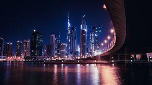 Preview wallpaper dubai, united arab emirates, skyscrapers