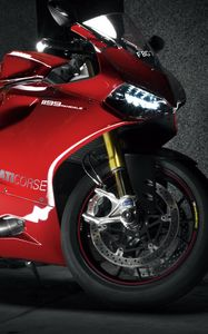 Preview wallpaper ducati, 1199, ducati 1199 panigale, motorcycle, red