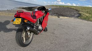 Preview wallpaper ducati 600, ducati, motorcycle, red