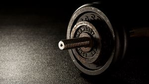 Preview wallpaper dumbbells, fitness, gym