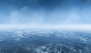 Preview wallpaper earth, atmosphere, aerial view, clouds, space