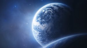 Preview wallpaper earth, planet, orbit, picture