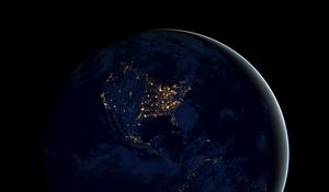 Preview wallpaper earth, planet, space, ball