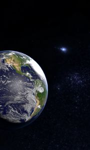 Preview wallpaper earth, planet, space, outer space, universe