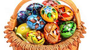 Preview wallpaper easter, egg, basket