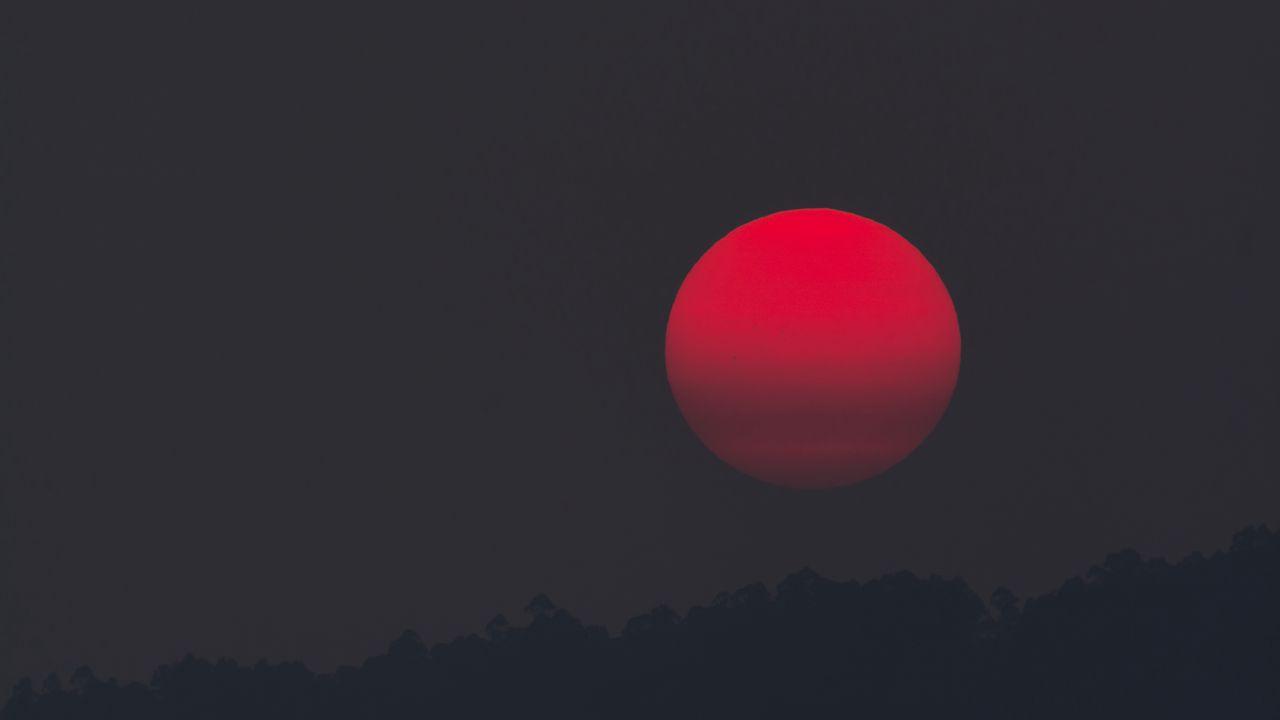 Wallpaper eclipse, moon, astronomy