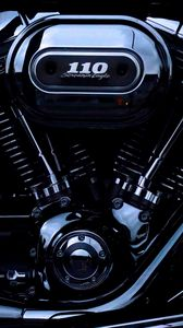 Preview wallpaper engine, harley davidson, motorcycle, bike, motor, details