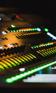Preview wallpaper equalizer, mixer, remote, device, electronics