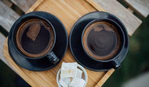 Preview wallpaper espresso, coffee, drink, cup, black
