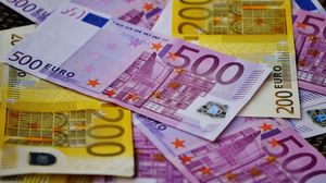 Preview wallpaper euro, money, banknotes