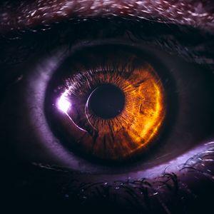 Preview wallpaper eye, pupil, close-up, brown, eyelashes