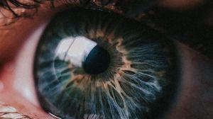 Preview wallpaper eye, pupil, closeup, highlight, eyelashes, eyelids