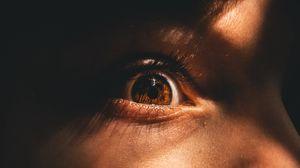 Preview wallpaper eye, pupil, eyelashes, close-up
