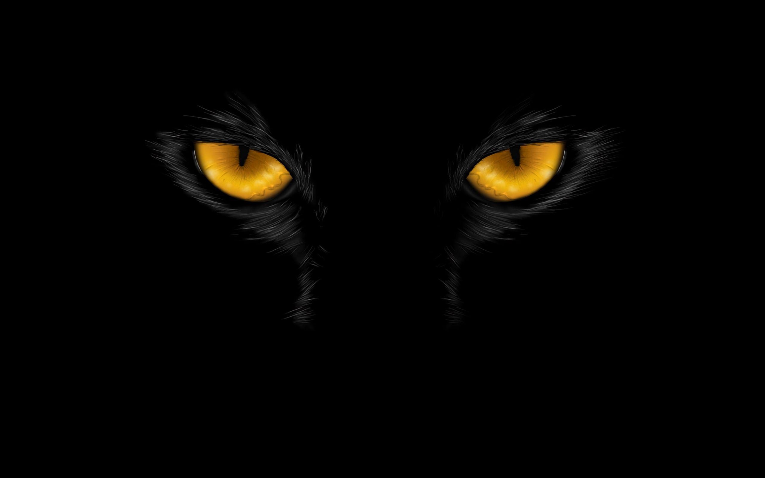 2560x1600 Wallpaper eyes, black, dark, art