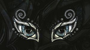 Preview wallpaper eyes, doodles, art