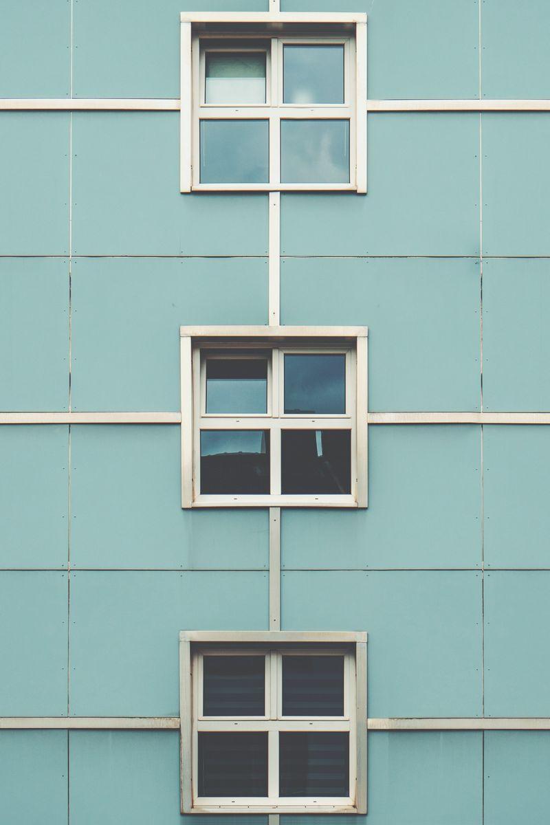 800x1200 Wallpaper facade, windows, building