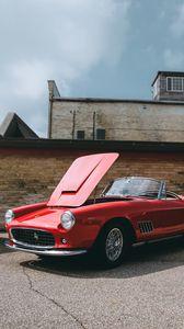 Preview wallpaper ferrari, convertible, luxury