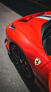 Preview wallpaper ferrari, sportscar, car, red