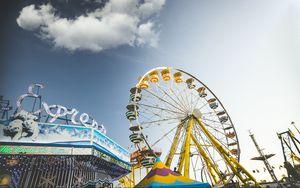 Preview wallpaper ferris wheel, attraction, entertainment