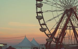 Preview wallpaper ferris wheel, entertainment, attractions