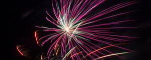 Preview wallpaper fireworks, sparks, explosions, light, colorful