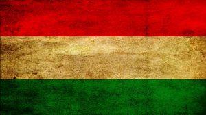 Preview wallpaper flag, stripes, hungary, symbols