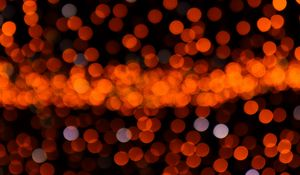 Preview wallpaper flare, bokeh, lights, blur, abstraction