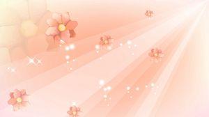 Preview wallpaper flight, flower, line, light