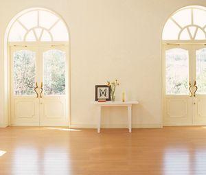 Preview wallpaper flooring, doors, light, room