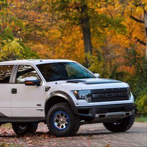 Preview wallpaper ford, f-150, raptor, tune, roush performance, pickup, phase 2, roush