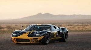 Preview wallpaper ford, gt40, 1966, sports car