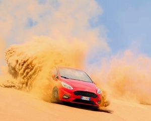 Preview wallpaper ford, sand, drift, desert