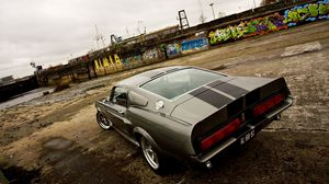Preview wallpaper ford, shelby, eleanor, gt 500