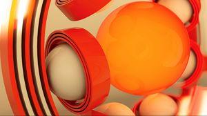 Preview wallpaper form, ball, plastic, figure